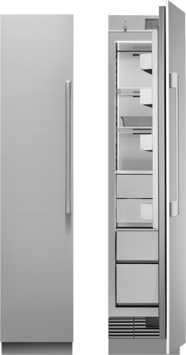 "Model: DRZ18980LAP | Dacor 18"" Freezer Column, Panel Ready, Left-Hinge"