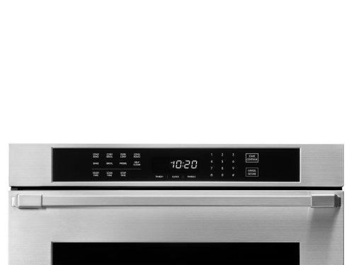 """Model: HWO130FS   Dacor Heritage 30"""" Single Wall Oven - Stainless Steel  with Flush Handle"""