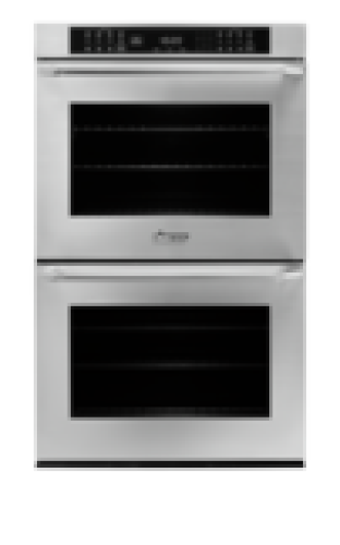 """Dacor Heritage 30"""" Double Wall Oven - Stainless Steel  with Epicure Style Handle"""