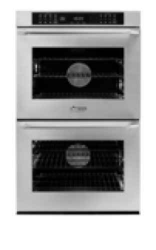 "Model: HWO227ES | Dacor Heritage 27"" Double Wall Oven - Stainless Steel  with Epicure Style Handle"