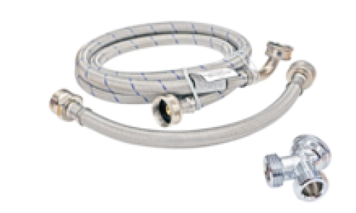 Steam Dryer Stainless Steel Hose Kit