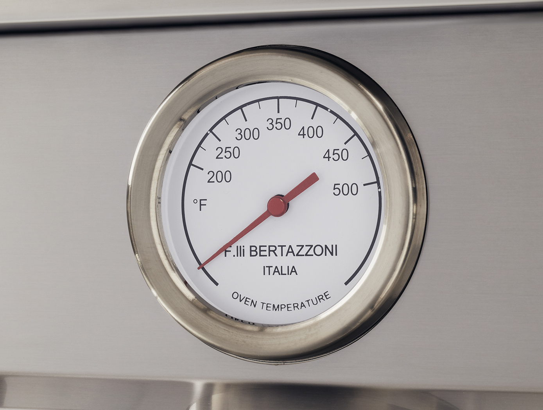 "Model: PROF486GGASXT | Bertazzoni 48"" Professional Series range - Gas Oven - 6 brass burners + griddle"