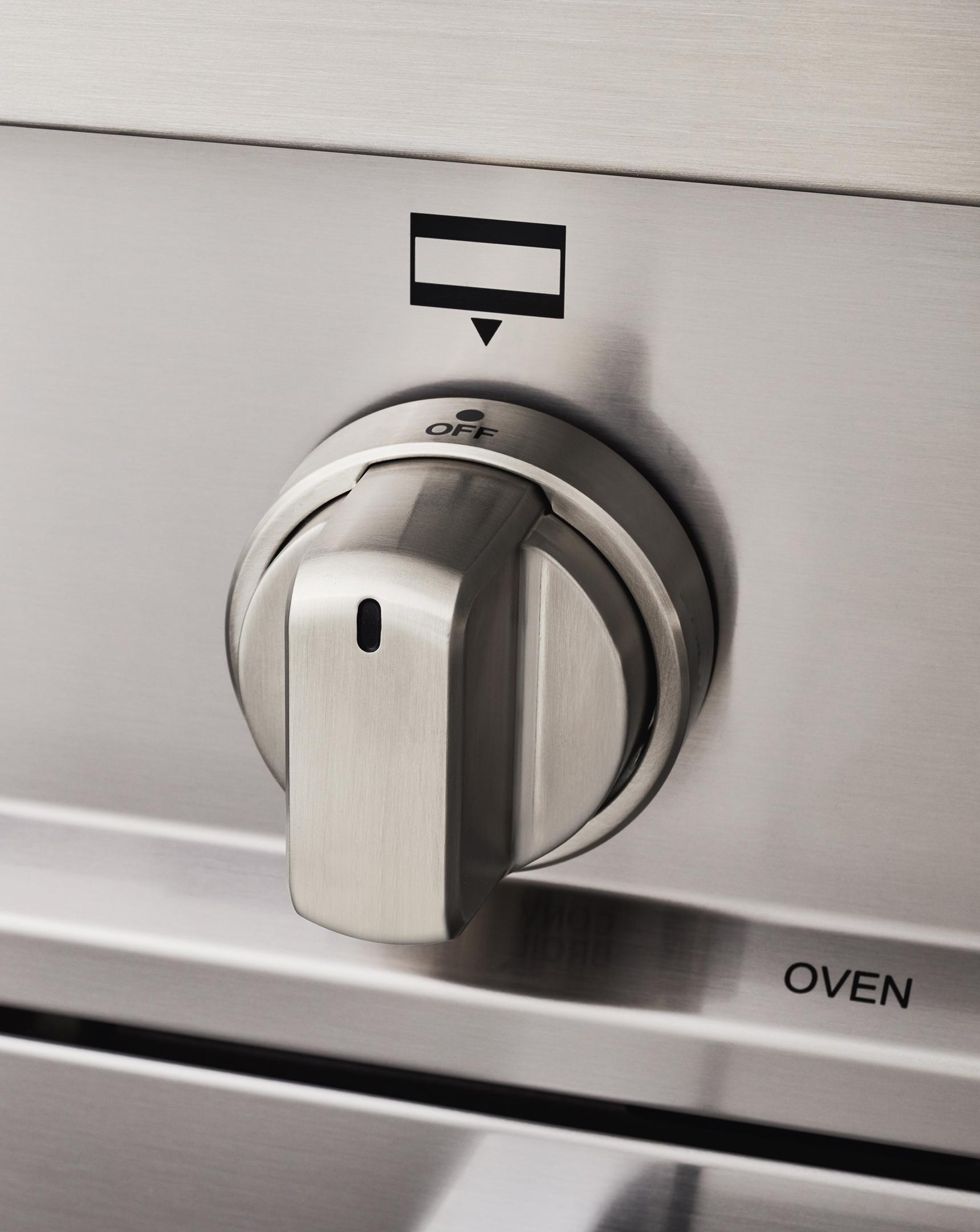 "Model: MAST366DFSXT   Bertazzoni 36"" Master Series range - Electric self clean oven - 6 brass burners"
