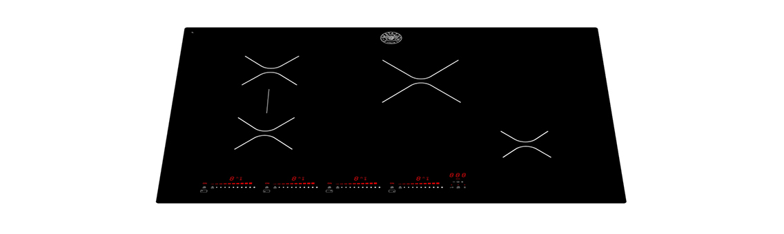 "Model: P304IAE | Bertazzoni 30"" Induction Cooktop 4 Heating Zones"