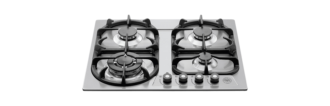 "Bertazzoni 24"" Cooktop 4 Burners"