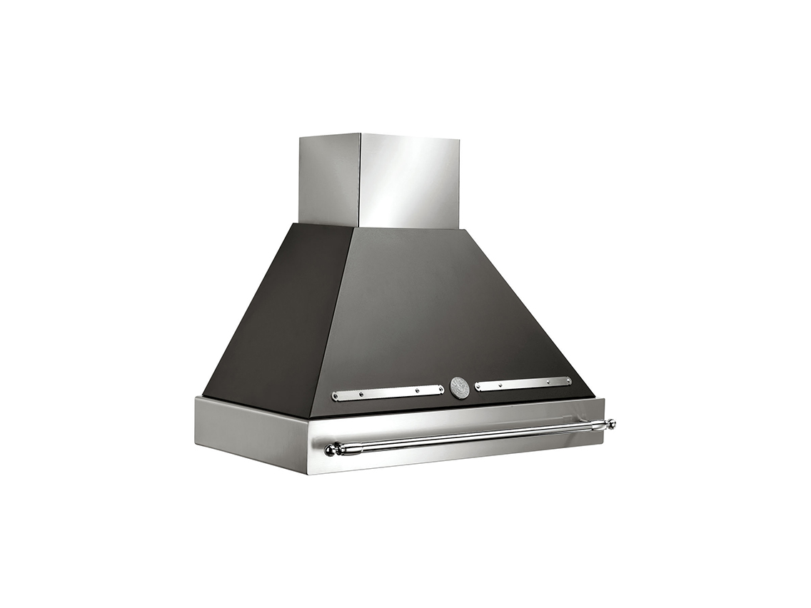 "Bertazzoni 36"" Canopy Hood Black use with K36HERX14 purchased separately"