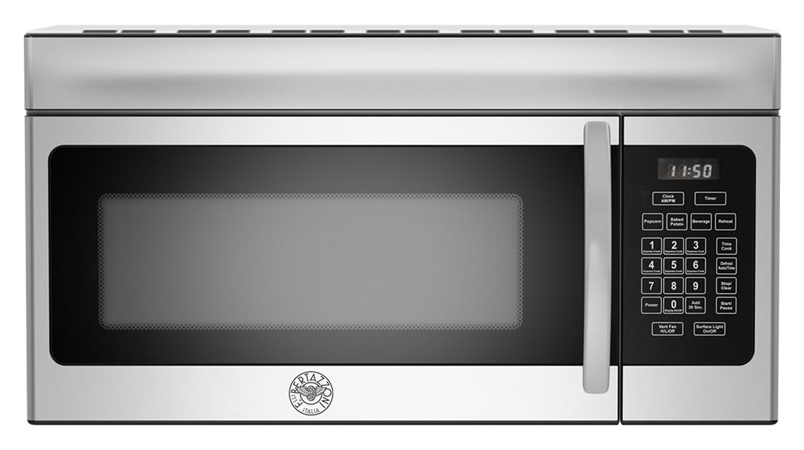 "Model: KOTR30X | Bertazzoni 30"" Over the Range Microwave Hood"