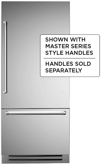 "Model: REF36PIXR   Bertazzoni 36"" Built-in refrigerator - Stainless - Right swing door"