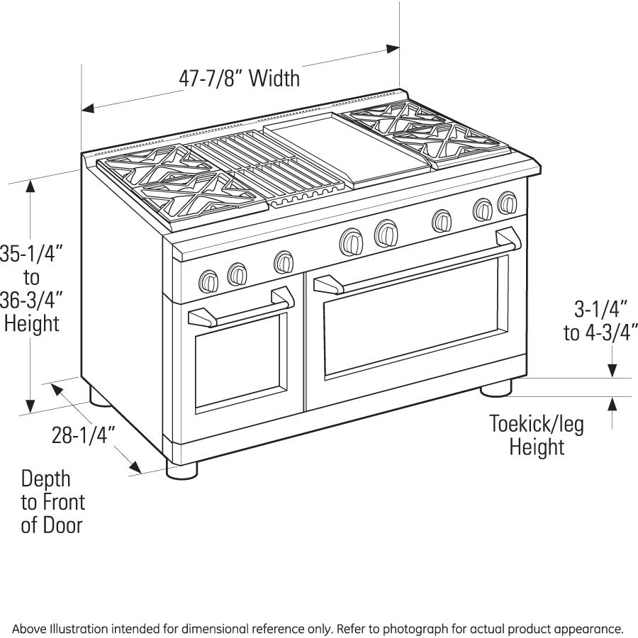 Monogram Zgp486ldrss 48 All Gas Professional Range Oven Wiring Diagram