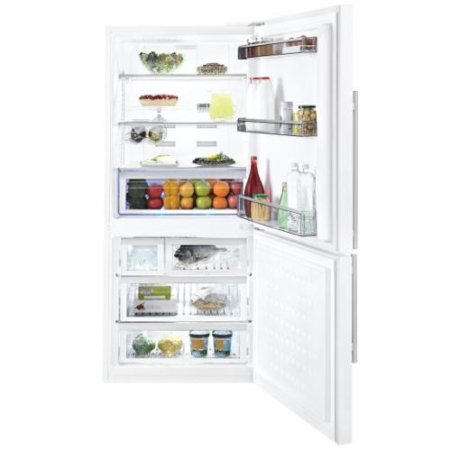 Model: BRFB1800WHIM   Blomberg 17.8 cu. ft. total gross volume Duo cycle frost free cooling Refrigerator