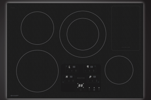 "Sharp Appliances 30"" Induction Cooktop"