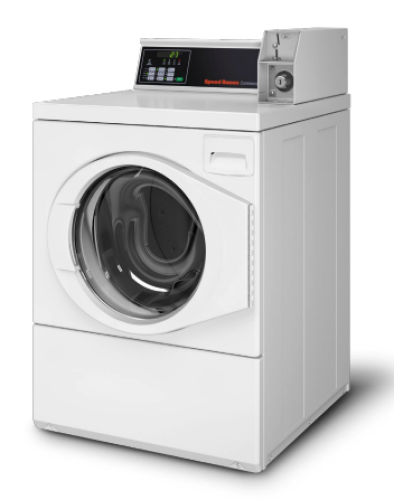 COMMERCIAL REAR CONTROL FRONT LOAD WASHER