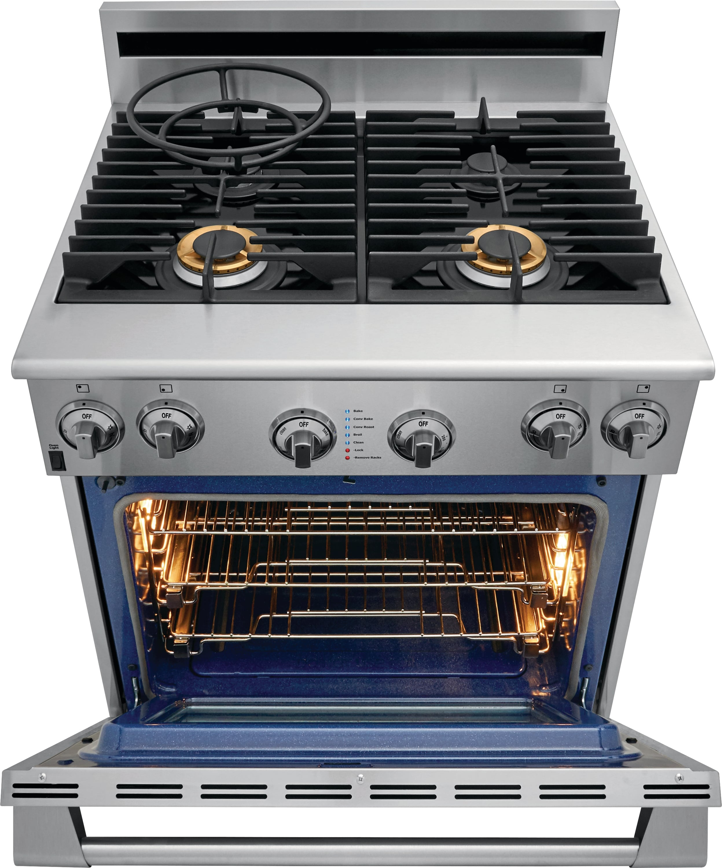 "Model: E30GF74TPS | Electrolux ICON Electrolux ICON® 30"" Full-Gas Freestanding Range"