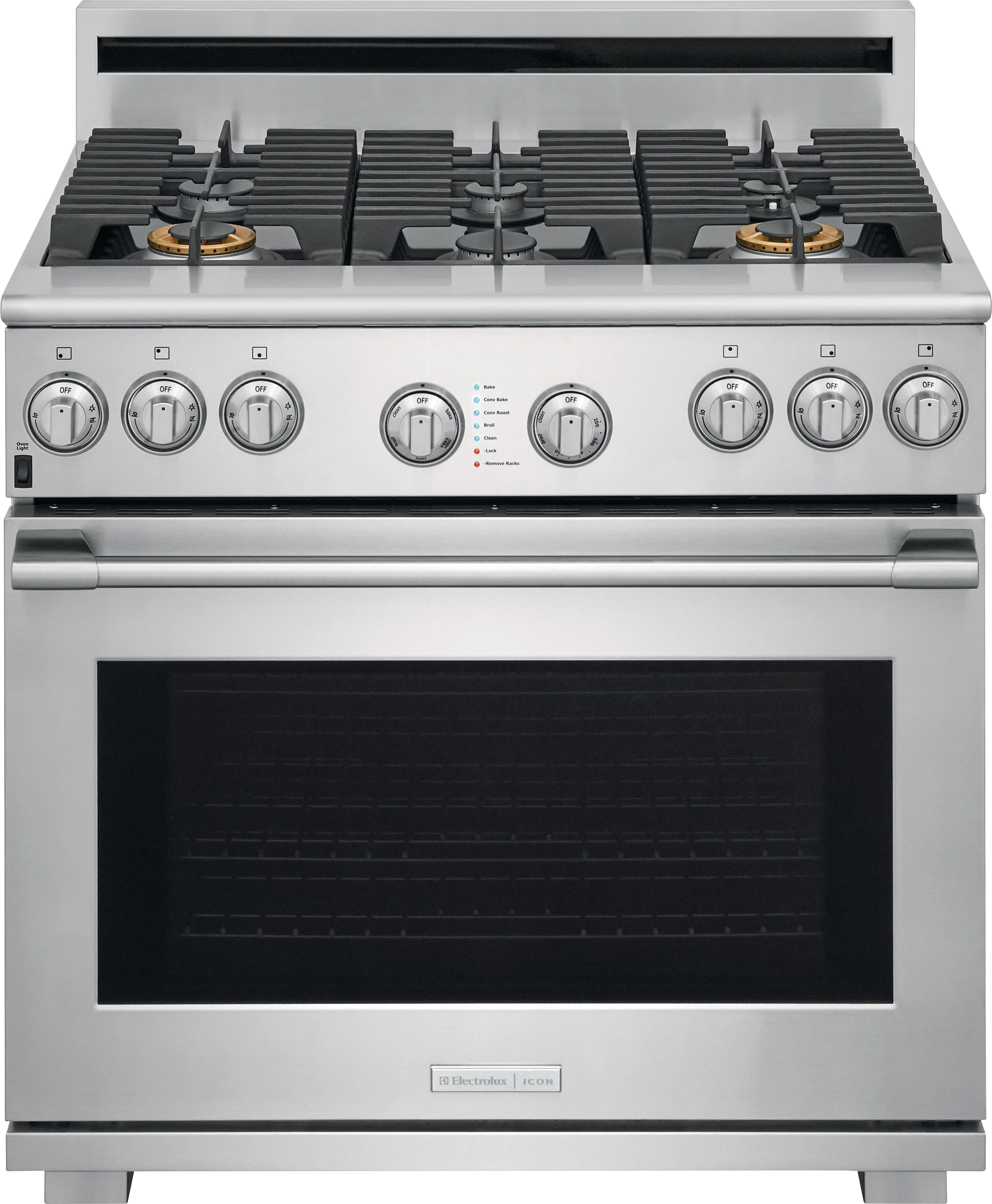 "Electrolux ICON Electrolux ICON® 36"" Full-Natural Gas Freestanding Range"