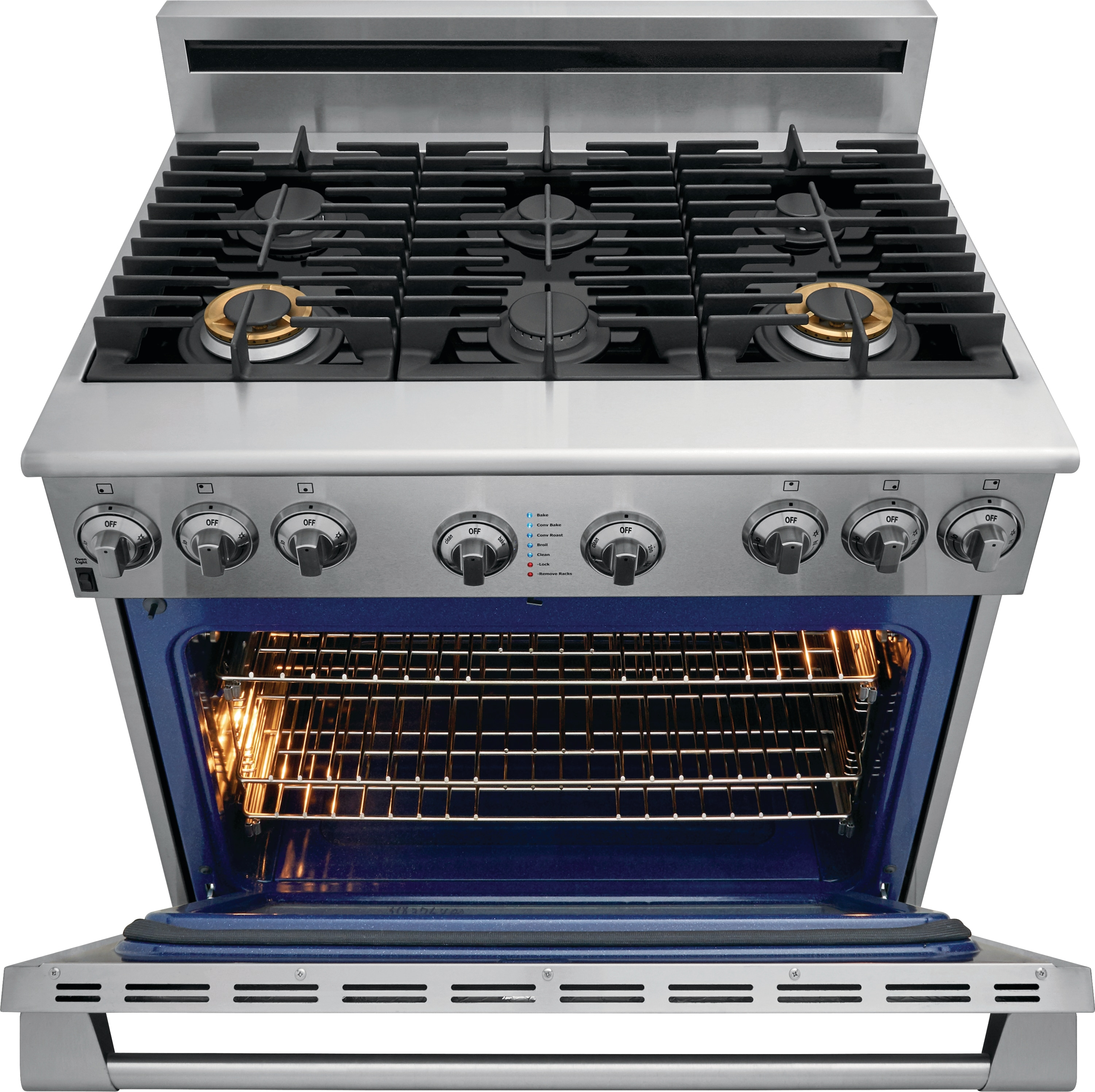"Model: E36GF76TPS | Electrolux ICON Electrolux ICON® 36"" Full-Natural Gas Freestanding Range"