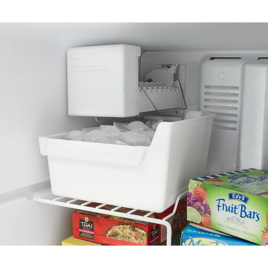 Model: 4WRT348FMEZWEB | Whirlpool 30-inch Wide Top Freezer Refrigerator - 18 cu. ft.