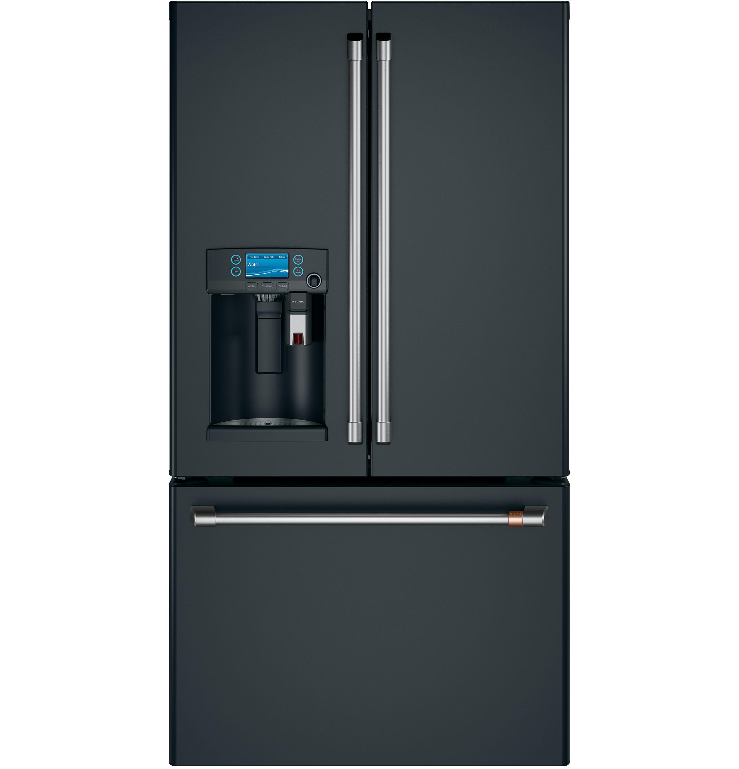 Ft. French-Door Refrigerator with Keurig