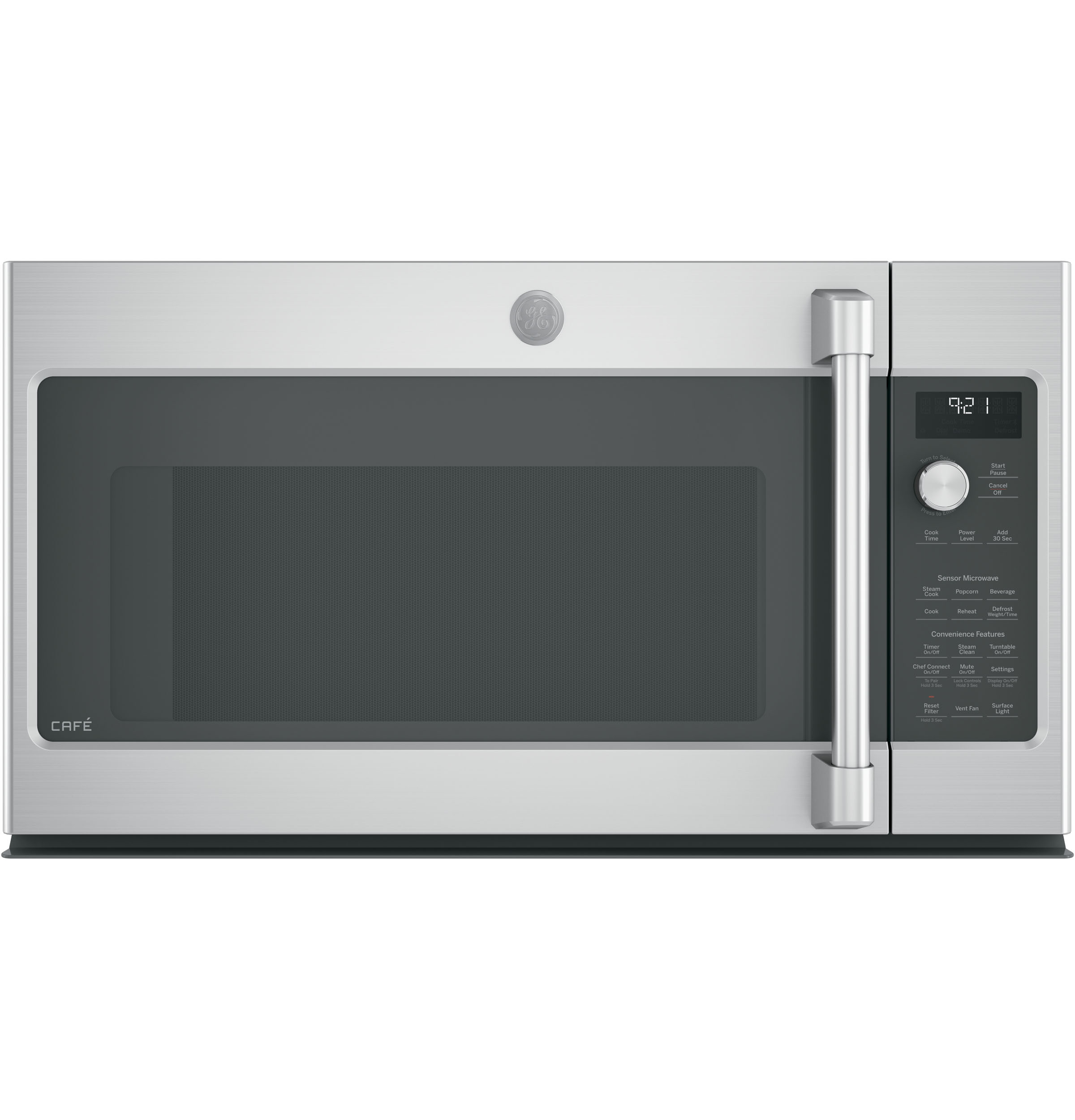 GE Café™ Series 2.1 Cu. Ft. Over-the-Range Microwave Oven