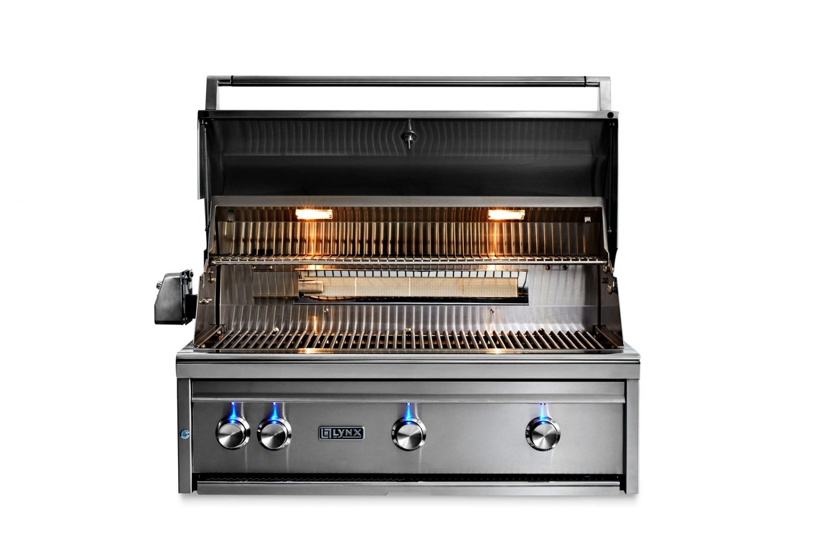 "36"" PROFESSIONAL BUILT-IN GRILL WITH ALL TRIDENT BURNERS, FLAMETRAK AND ROTISSERIE-LP"