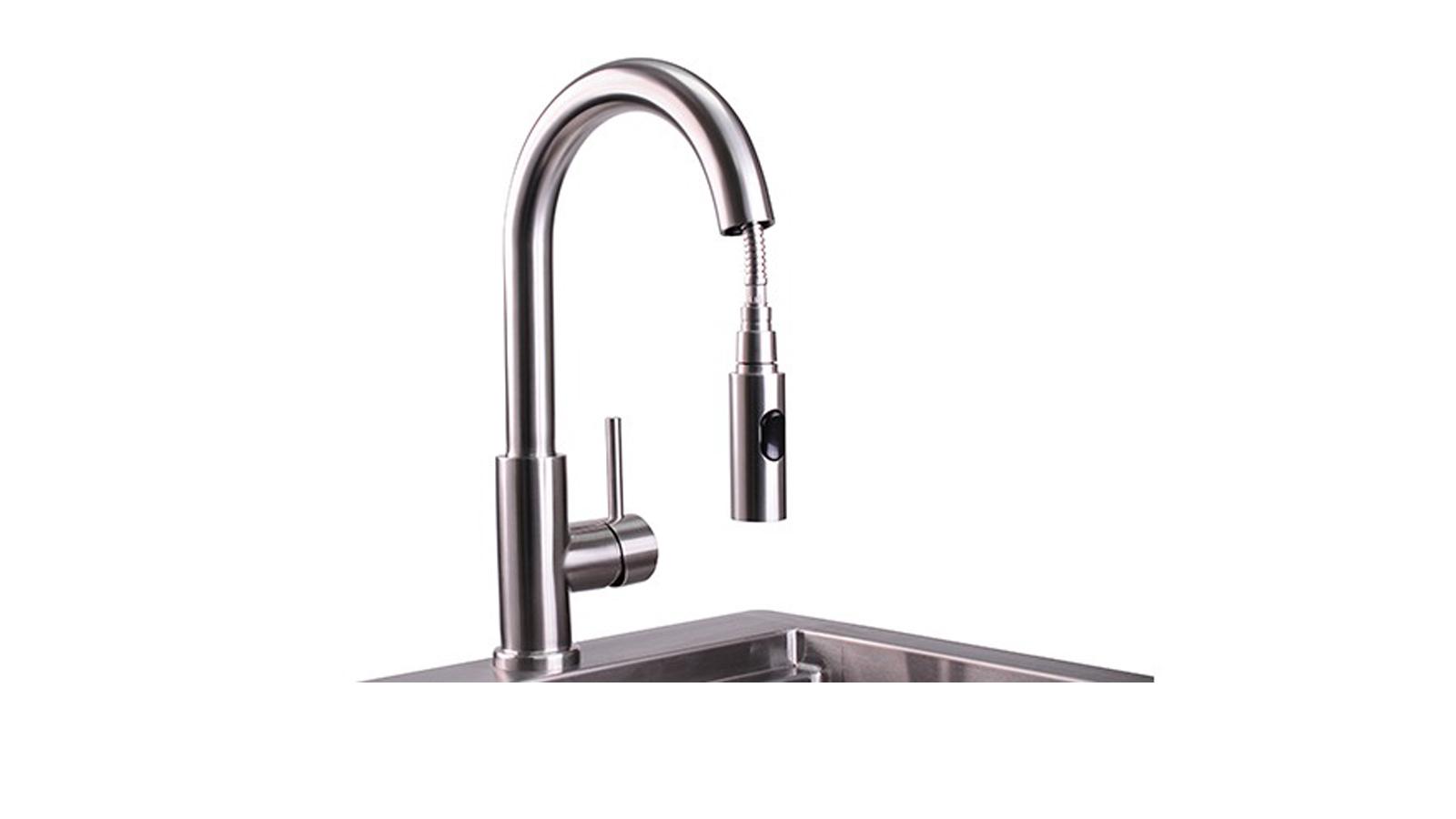 Professional Gooseneck Pull Down Faucet (LPFK)