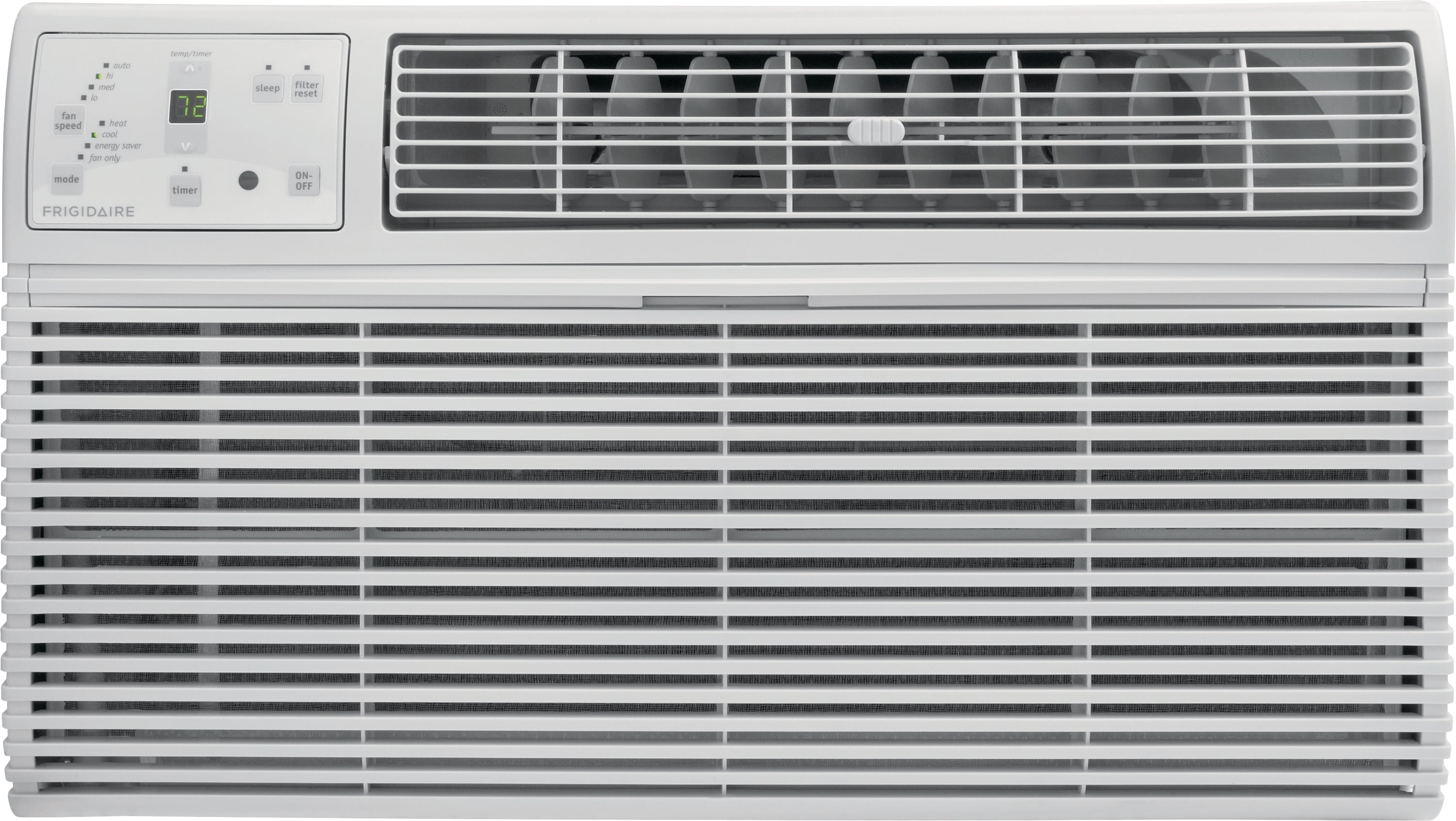 8,000 BTU Built-In Room Air Conditioner with Supplemental Heat