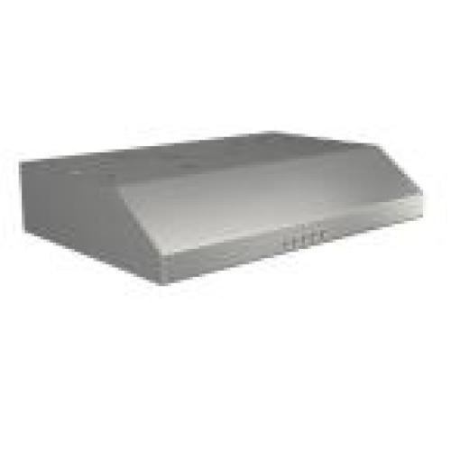 Broan Glacier 30 in. 300 CFM Convertible Under Cabinet Range Hood