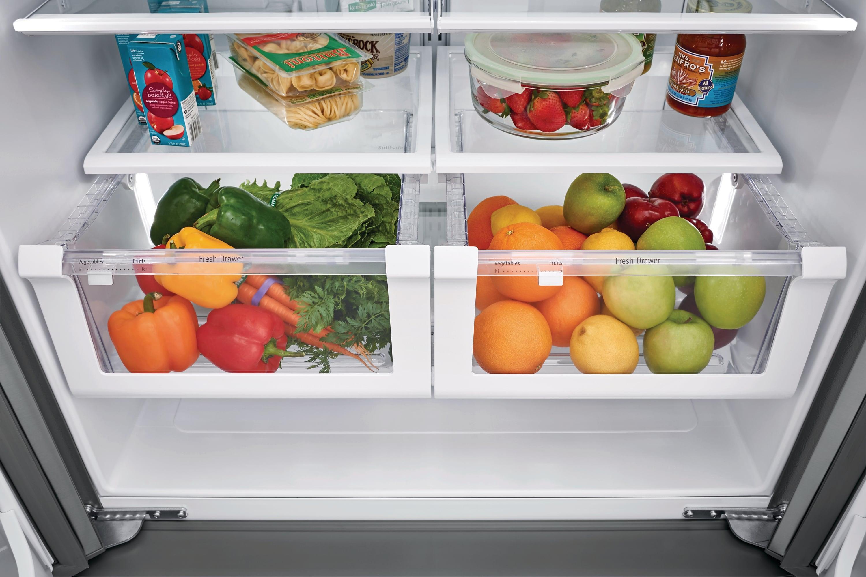 21.7 Cu. Ft. French Door Counter-Depth Refrigerator