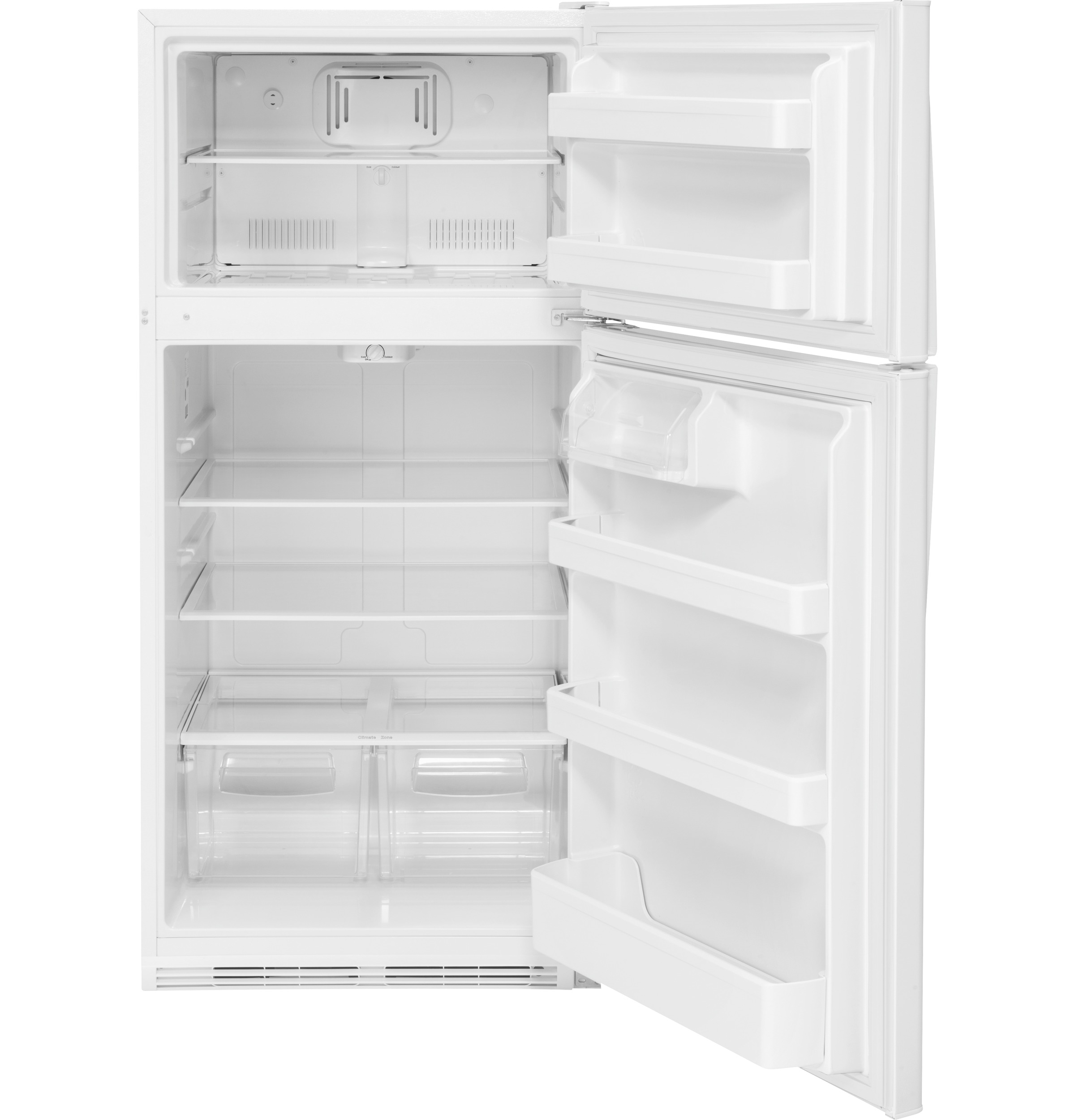 Model: 3GTS21FGKWWWEB | GE GE® 20.8 Cu. Ft. Top-Freezer Refrigerator