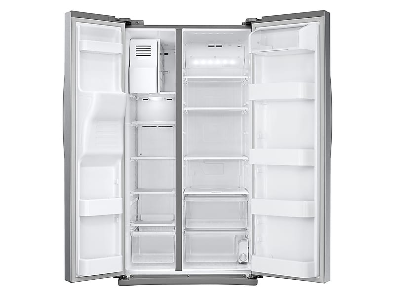Model: 3RS25J500DSRWEB | 25 cu. ft. Side-By-Side Refrigerator with LED Lighting