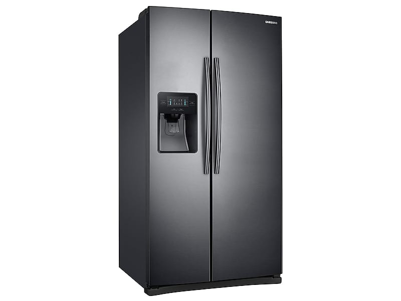 Model: 4RS25J500DSGWEB | Samsung 25 cu. ft. Side-By-Side Refrigerator with LED Lighting