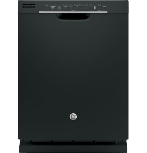 GE Hybrid Stainless Steel Interior Dishwasher with Front Controls