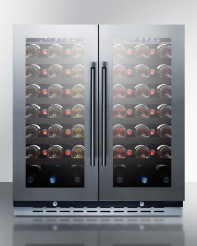 """Summit 30"""" wide wine cellar"""