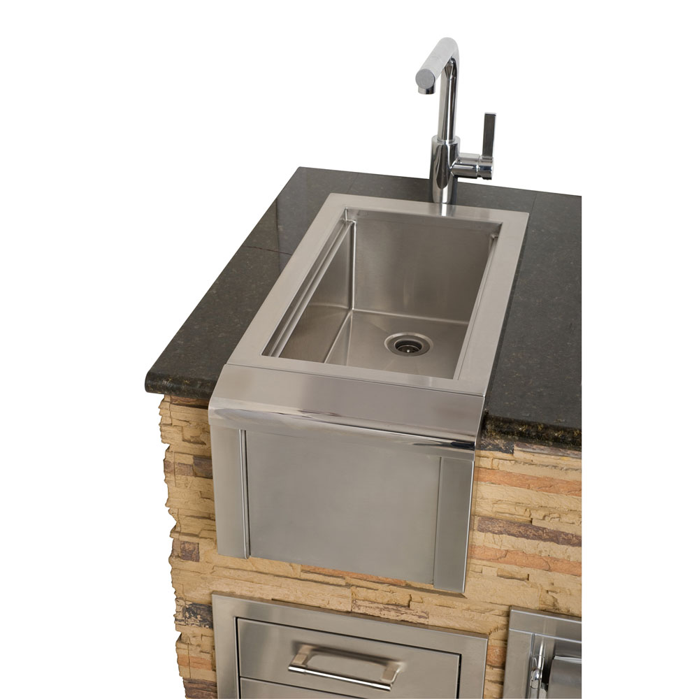 Alfresco 14-In. Bartender and Sink System