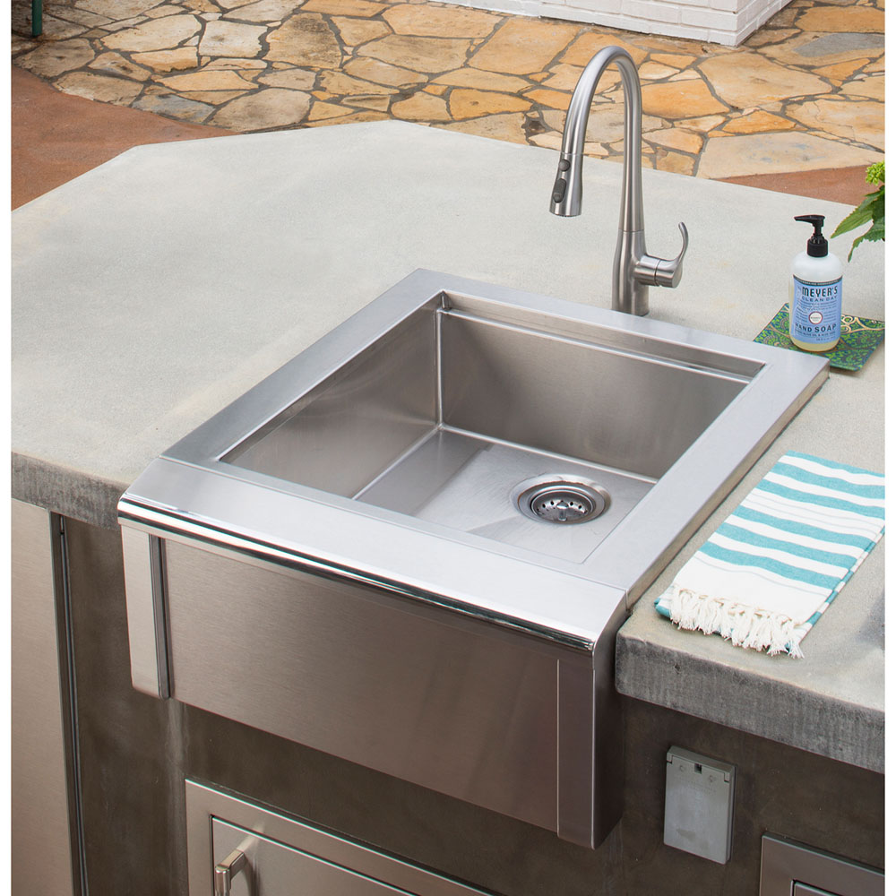 Alfresco 24 In. Bartender and Sink System