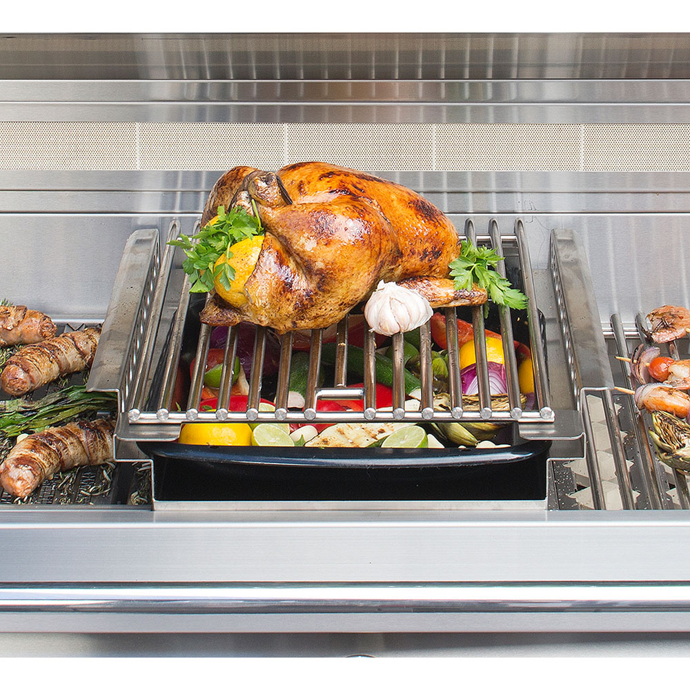 Alfresco Grill-Mounted Indirect Roasting Pod