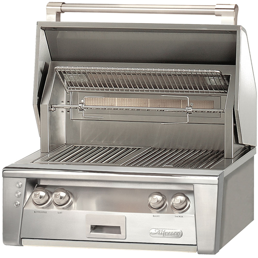 Alfresco 30-In. Built-In Liquid-Propane Grill with Sear Zone