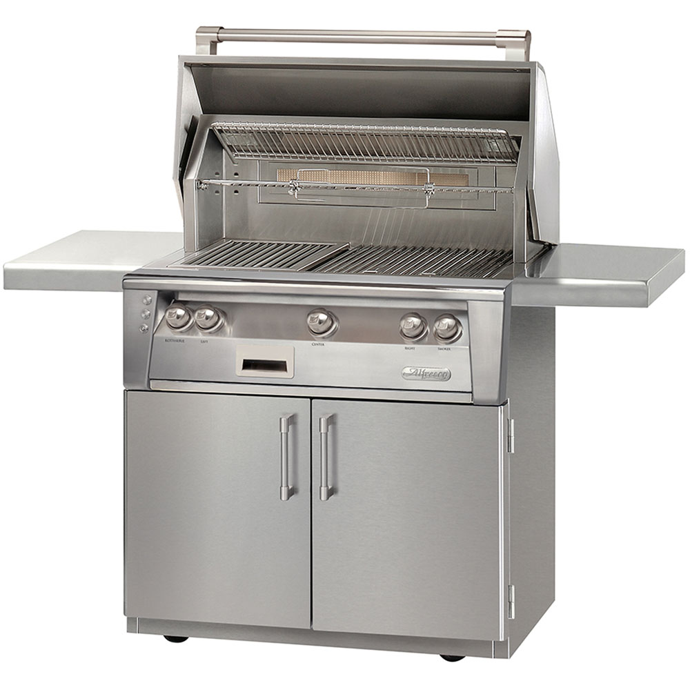 Alfresco 36-In. Liquid-Propane Grill on Cart