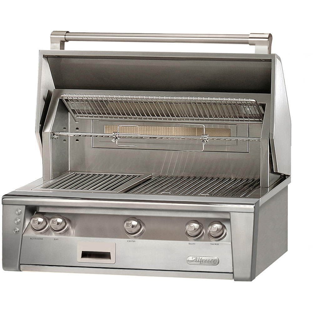 Alfresco 36-In. Built-In Natural Gas Grill with Sear Zone