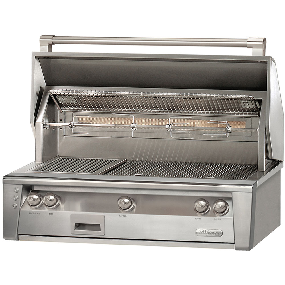 42-In. Built-In Liquid Propane Grill with Sear Zone