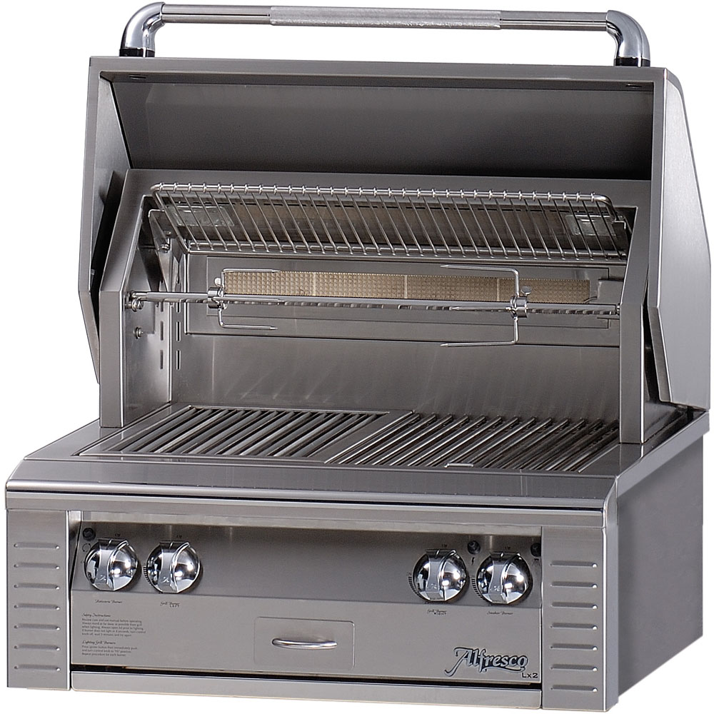 30 In. Built-In All-Infrared Liquid-Propane Grill