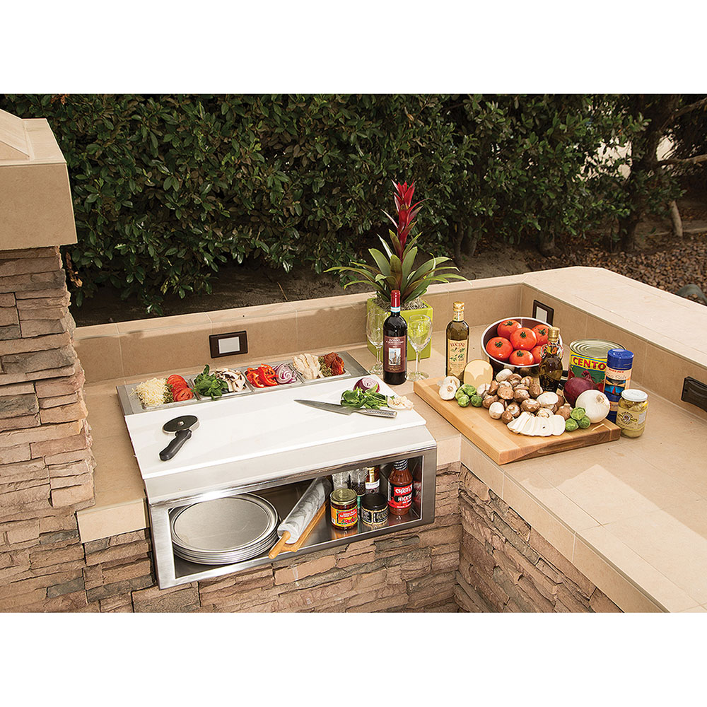 Alfresco 30-In. Pizza Prep Station