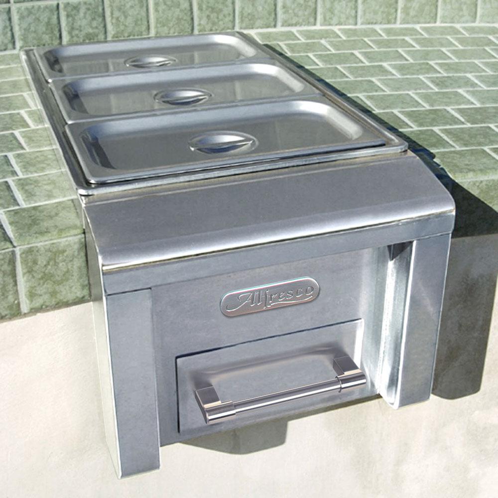 Model: AXEFW | Alfresco 14-In. Bulit-In Food Warmer