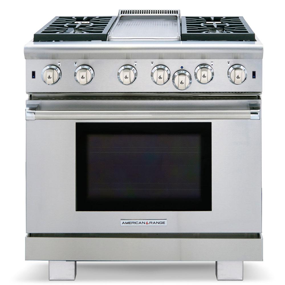 Model: ARR-436GD-N | American Range Cuisine ARR-436GD-N Gas Range