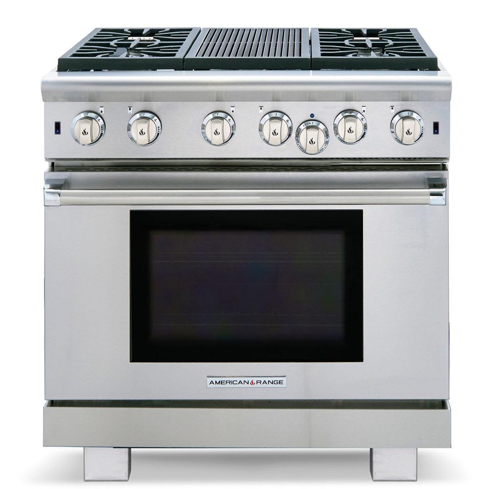 Model: ARR-436GR-L | American Range Cuisine ARR-436GR-L Gas Range