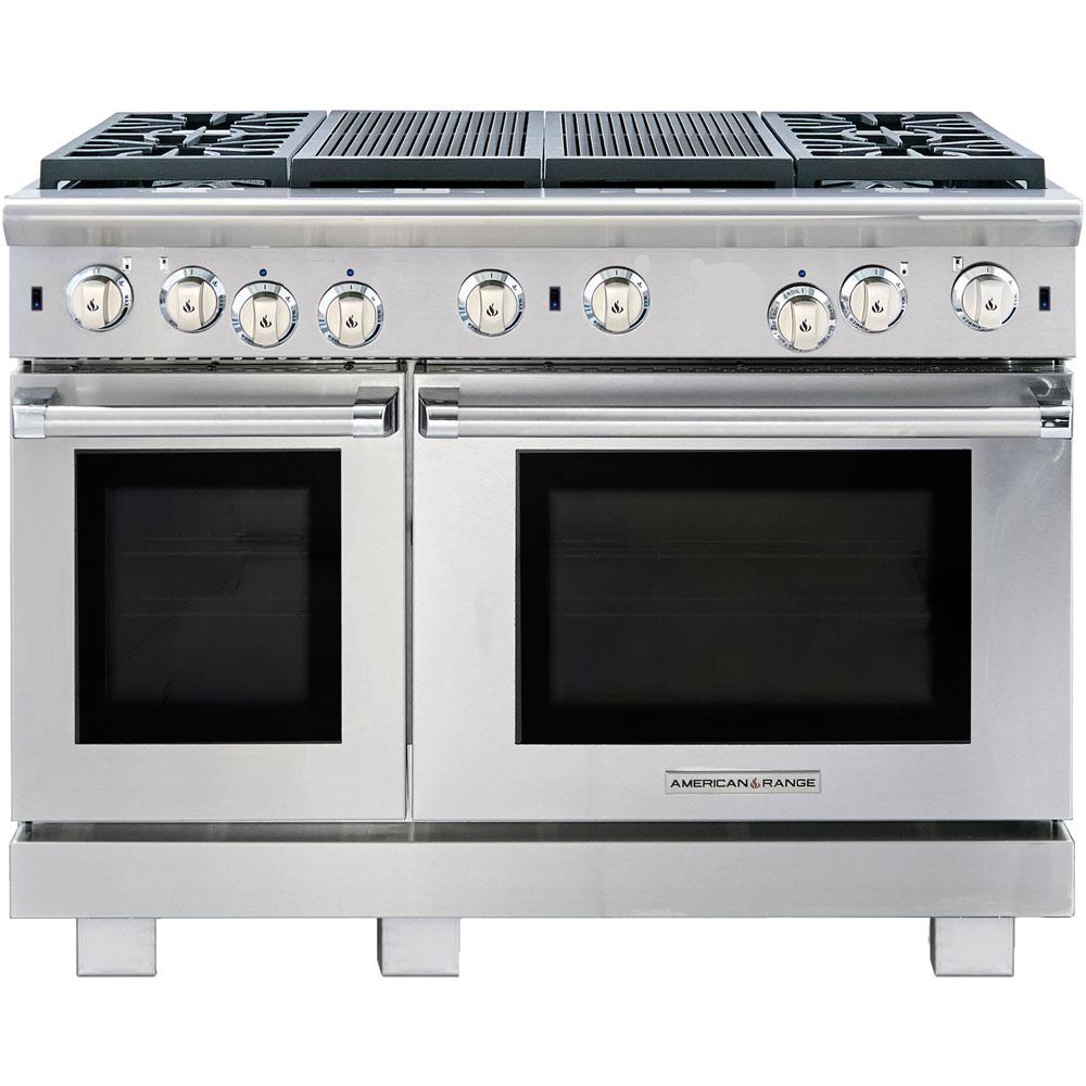 American Range Cuisine ARR-4482GR-N Gas Range
