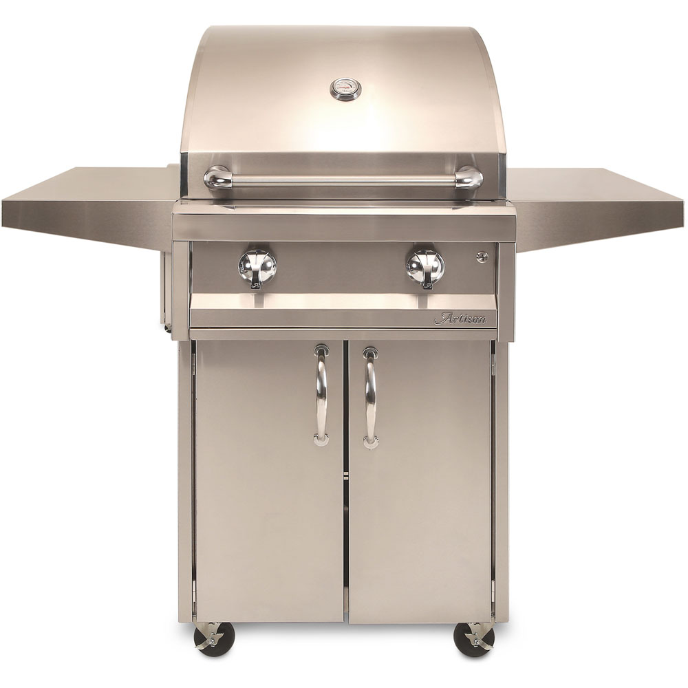 Artisan  26 In. American Eagle Series Built-In Liquid Propane Grill - No Rotisserie/No Light