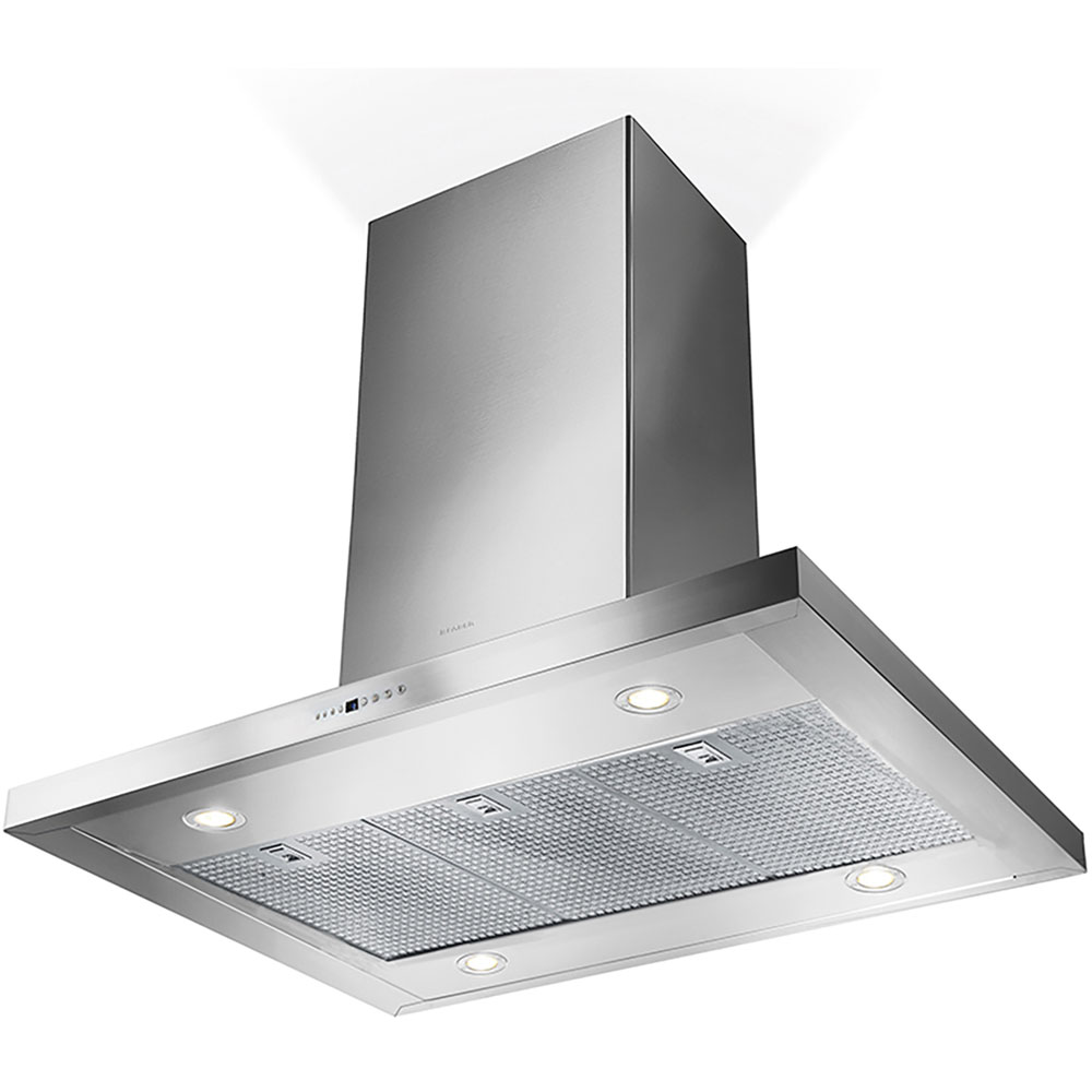 36-In. Bella Isola Stainless Steel Island Range Hood