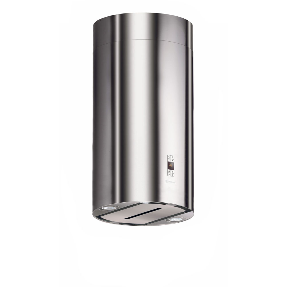 Faber 15-In. Cylindra Isola Island Mount Vent Hood