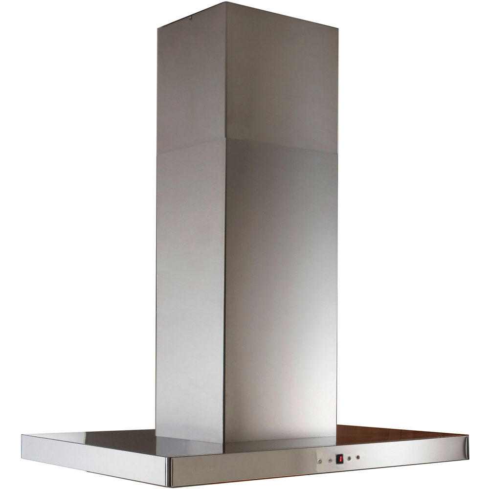 Faber 48-In. Stilo Isola Island Range Hood with 600 cfm Blower