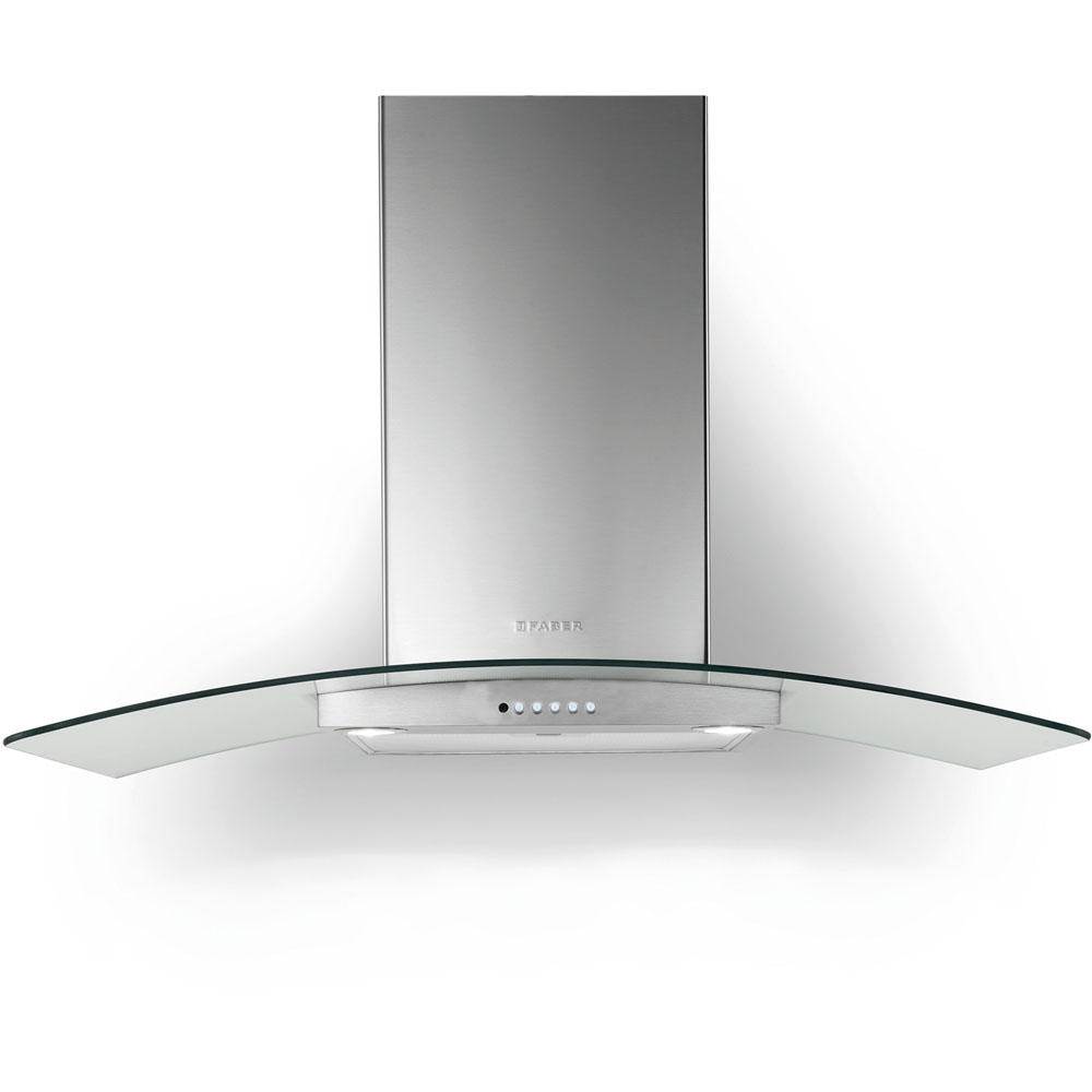 36-In. Tratto Stainless Wall Range Hood with 600 CFM Internal Blower